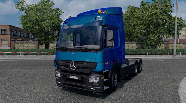 Мод Mercedes-Benz Actros MP3 Reworked v2.7 для ETS 2 (1.33.x)