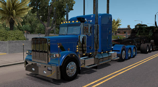 Мод Peterbilt 389 Modified v2.2.3 для ATS (1.35.x)