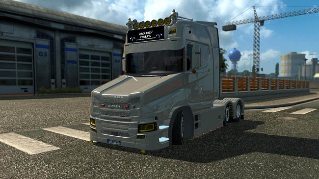Мод тягач Scania T Next Gen для ETS 2 (1.31-1.32)