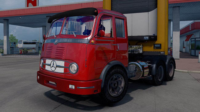 Мод Mercedes-Benz LP-331 v2.1 для ETS 2 (1.31-1.32)
