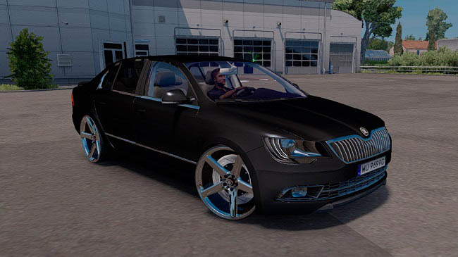 Мод Skoda SuperB RS v7.0 для ETS 2 (1.31-1.32)