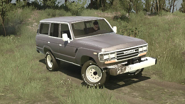 Мод пак Toyota Land Cruiser HJ60 для ST: MudRunner