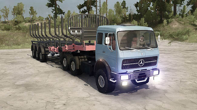 Мод Mercedes-Benz 1632NG v1.0 для ST: MudRunner