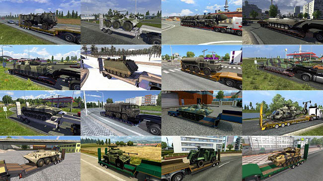 Мод Military Cargo Pack v3.7 для ETS 2 (1.35.x)