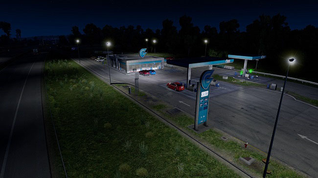 Мод Arayas AI Superlights v1.7 для ETS 2 (1.32.x)
