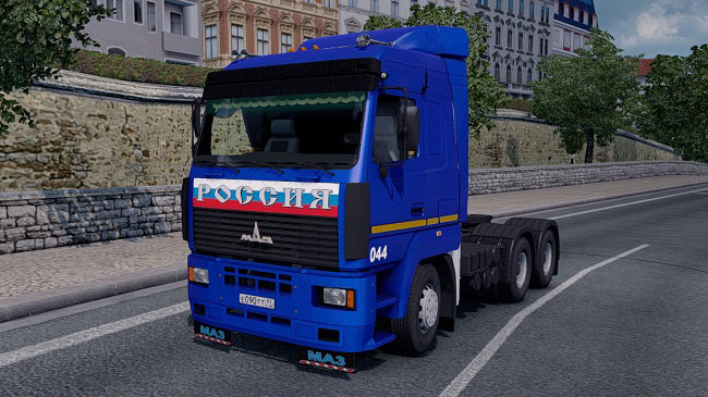 Мод МАЗ-5340/5440/6430 А8 Reworked для ETS 2 (1.34.x)