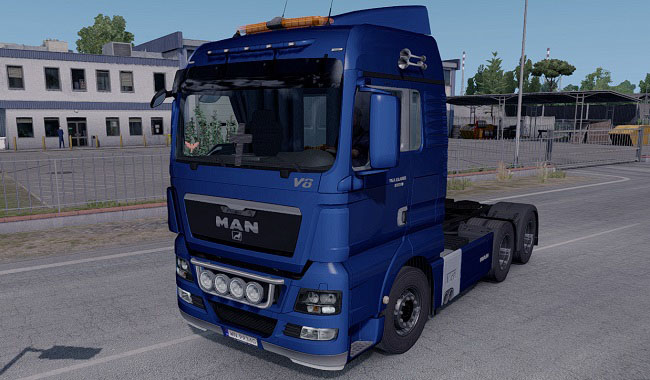 Мод MAN TGX Reworked v2.5 Fixed для Euro Truck Simulator 2 (1.32.x-1.36.x)