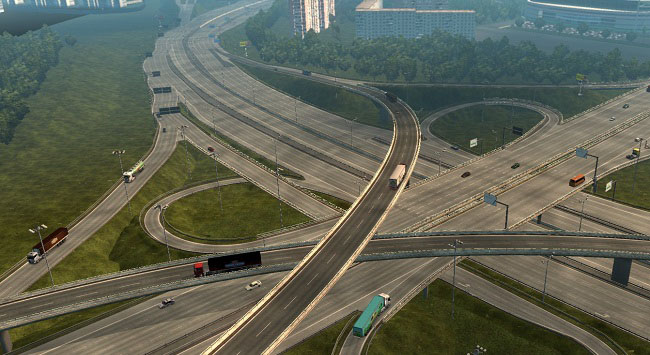 Мод Realistic Russian Highways v6.0 для ETS 2 (1.33.x)