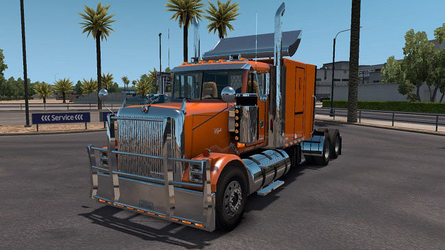 Мод International Eagle 9300i для ATS (1.32.x)