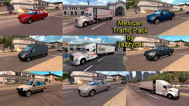 Мод Mexican Traffic Pack v1.9.1 для ATS (1.35.x)