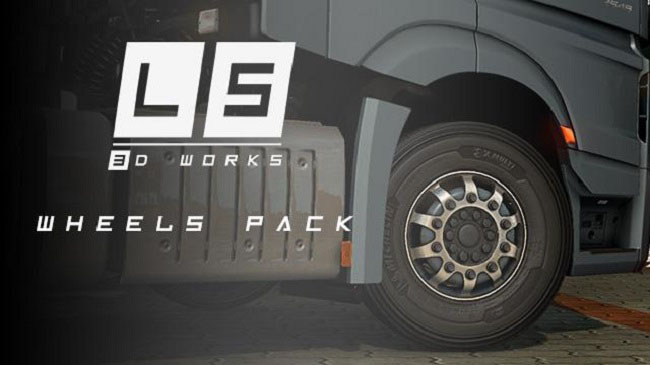 Мод LS Wheels Pack v0.6.1 для ETS 2 (1.34.x)