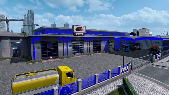 Мод New Garage and Load Place v1.2 для ETS 2 (1.35.x)
