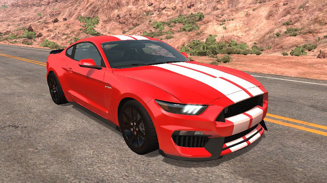 Мод Ford Mustang S550 v3.0 для BeamNG.Drive (0.16)