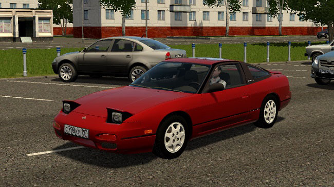 Мод Nissan 240SX для City Car Driving (1.5.9)