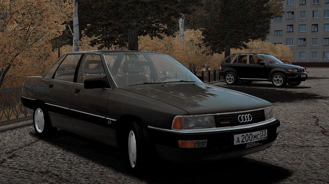 Мод Audi 200 quattro 20v для Сity Car Driving (1.5.2-1.5.6)