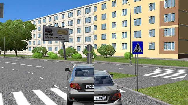 Мод Retextur v2.0 для City Car Driving