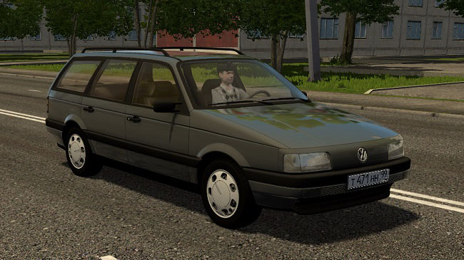 Мод Volkswagen Passat B3 1993 для City Car Driving (1.5.8)