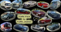 Мод Traffic Pack by TrafficManiac для ETS 2 (1.32.x)