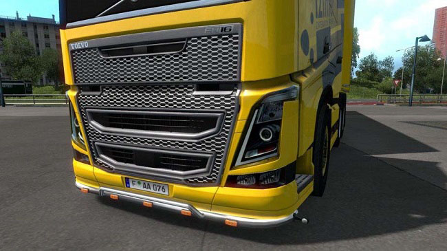 Мод Volvo FH16 2012 High quality Headlight для ETS 2 (1.32.x)