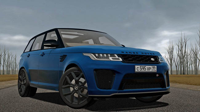 Мод Range Rover Sport SVR 2018 для City Car Driving (1.5.9)
