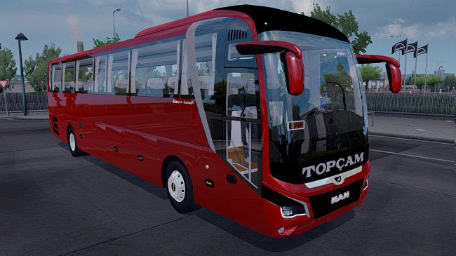 Мод MAN Lion's Coach 2018 Euro 6 v1.1 для ETS 2 (1.34.x)