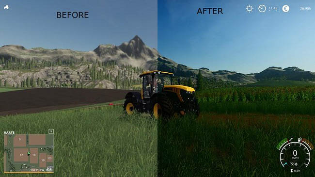 Мод Better graphics для FS19
