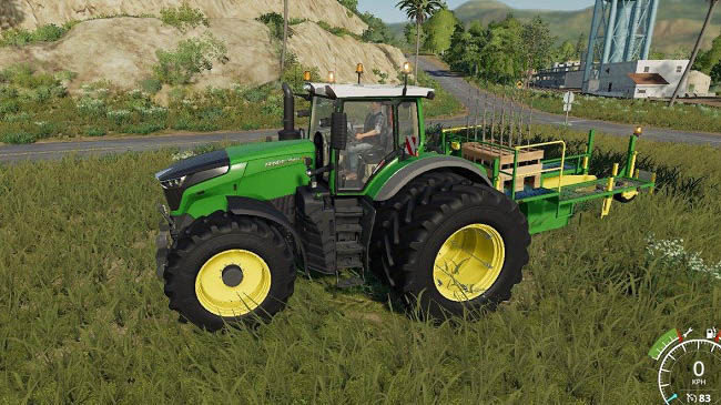 Мод Damcon PL-75 planter + 60 Tree saplings pallets v1.0 для FS19 (1.1.0.0)
