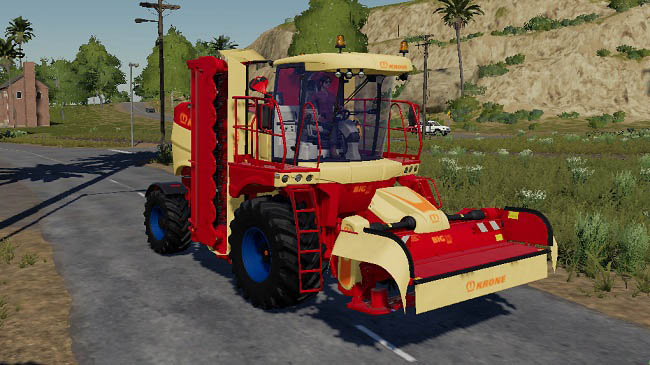 Мод FS19 BigM450 by Stevie v1.1 для FS19 (1.1.0.0)