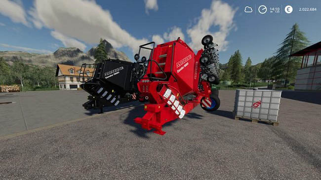 Мод Amazon Condor15001 MultiFruit MultiColor v1.0 для FS19 (1.1.0.0)