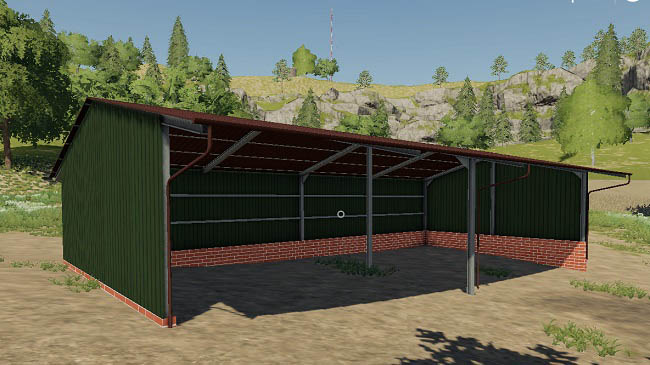 Мод Placeable Halls Pack v1.0 для FS19 (1.1.0.0)
