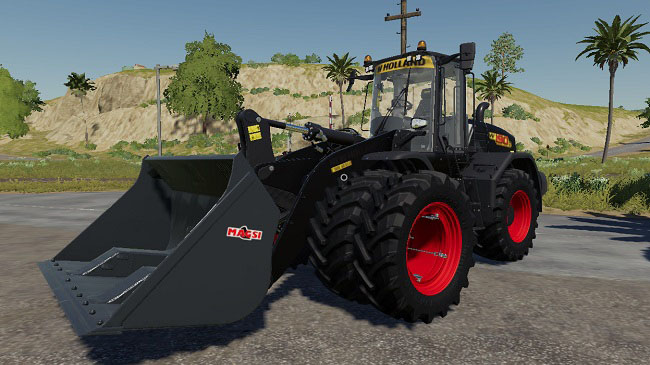 Мод New Holland W190D для FS19 (1.1.0.0)