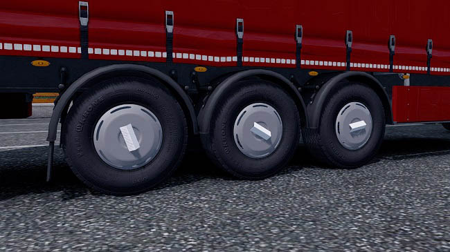 Мод Ownership Trailer Rim Cap v1.0 для ETS 2 (1.32.x-1.33.x)