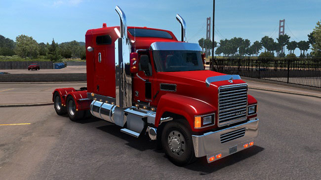 Мод MACK Pinnacle CHU613 v1.2 для ATS (1.35.x)