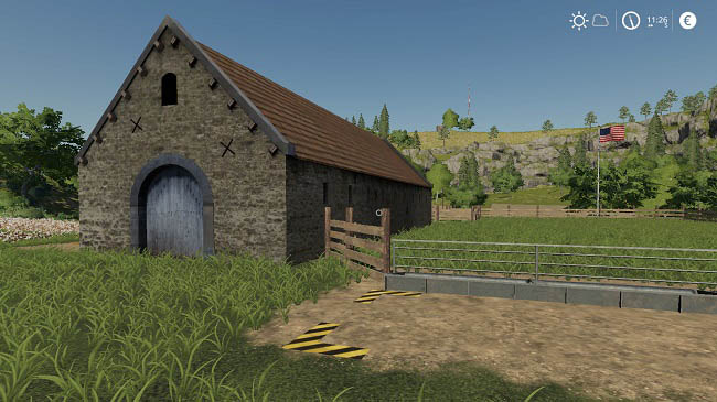 Мод Old Sheep Placeable v2.5 для FS19 (1.4.x)