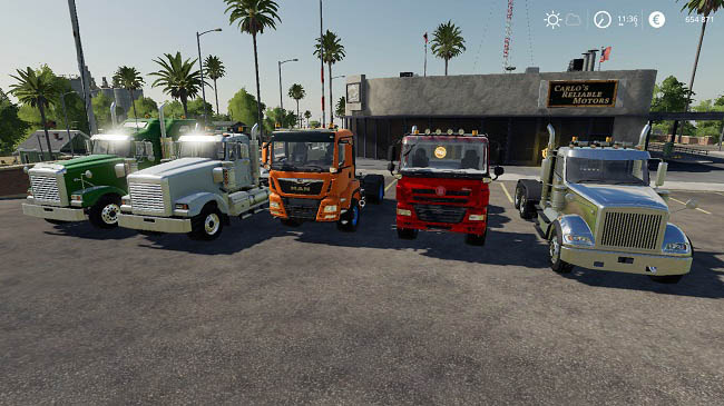 Мод Trucks Gamling Edition v1.0 для FS19 (1.1.0.0)