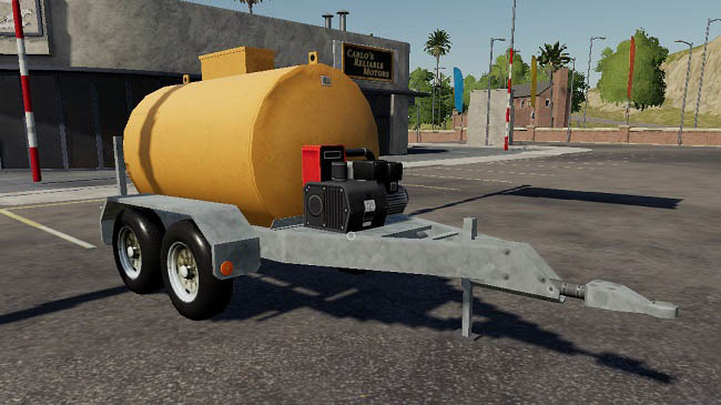 Мод Lizard Fuel Trailer v1.0 для FS19 (1.1.0.0)