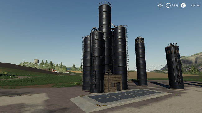 Мод Farm Silo Pack Placeable v1.0 для FS19 (1.1.0.0)