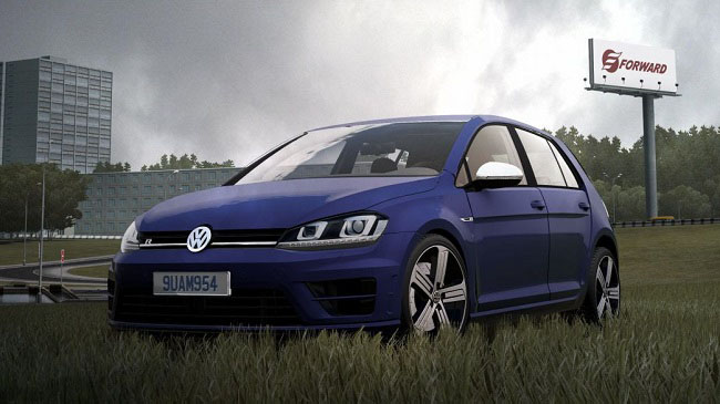 Мод Volkswagen Golf R 2014 для City Car Driving (1.5.8)