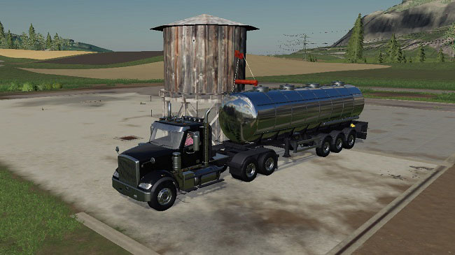 Мод Placeable water tower v1.0 для FS19 (1.2.x)