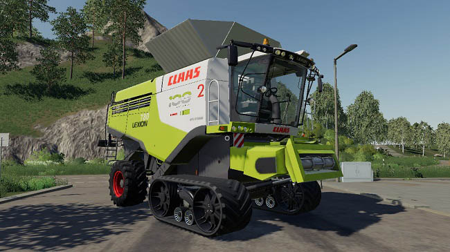 Мод Claas Lexion 780 Full Pack v4.0 для FS19 (1.2.x)