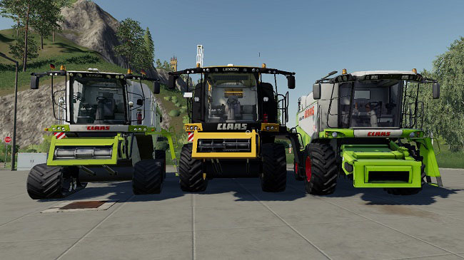 Мод Claas Pack by JBK V1.0 для FS19 (1.2.x)