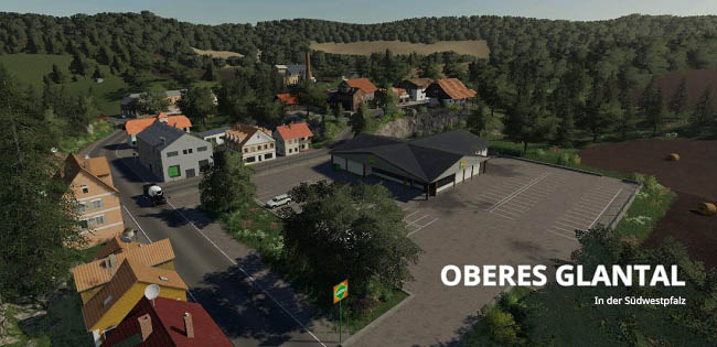 Карта Upper Glantal in the South Palatinate v1.0 для FS19 (1.2.x)