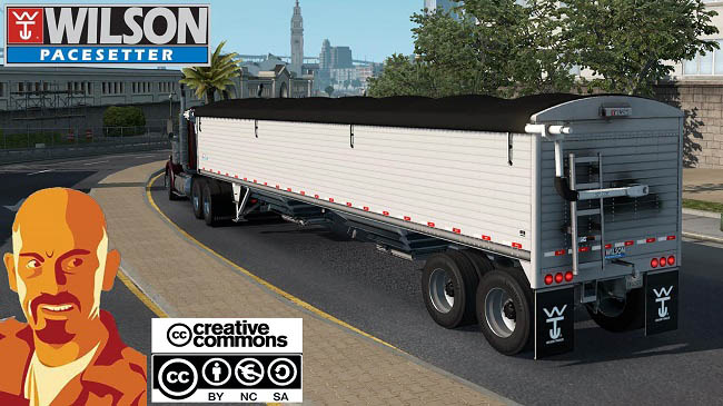 Мод Wilson Pacesetter Trailer v1.1 для ATS (1.33.x)