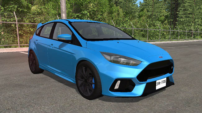 Мод Ford focus RS v1.0 для BeamNG.drive (0.14)