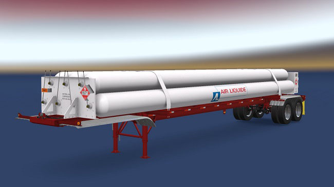 Мод Habdorn's CNG 7Tubes ISO 48FT trailer для ATS (1.33.x)