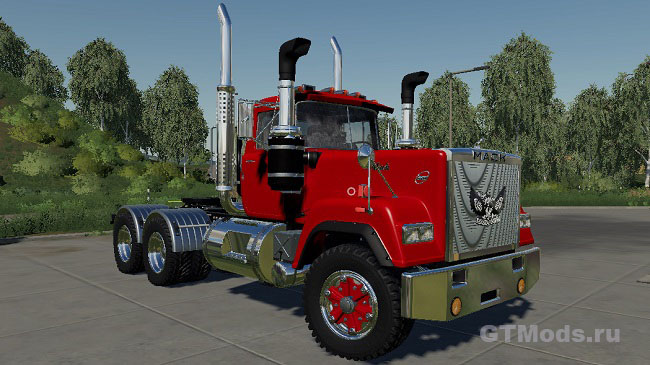 Мод Mack Superliner Daycab v1.2 для FS19 (1.2.x)