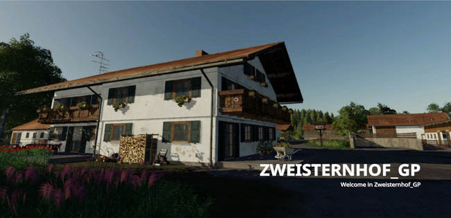 Карта Zweisternhof Map GP v2.0 для FS19 (1.2.x)