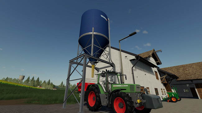 Мод Placable Fertilizer Silo v1.0 для FS19 (1.2.x)