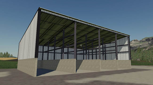 Мод Placeable Commodity Shed v1.0 для FS19 (1.2.x)