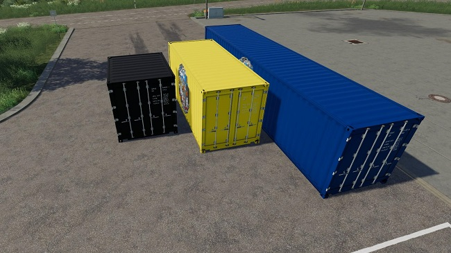 Мод ATC Container Pack v3.0.0.0 для FS19 (1.3.x)